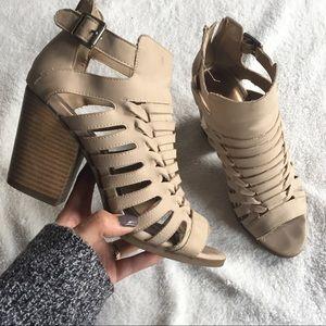 •Rampage• Vero Sandel Bootie Heels